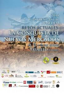 Cartel Congreso AEDEM Trujillo