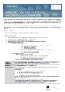 2016.06.20 Seminario Metodos biblometricos