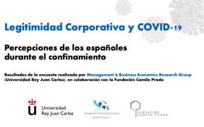 Informe de Legitimidad corporativa y COVID-19: Percepciones de los españoles durante el confinamiento