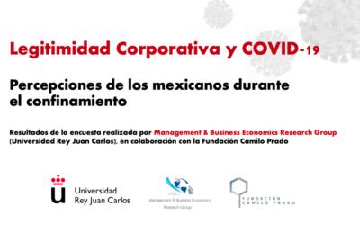 Informe de Legitimidad corporativa y COVID-19: Percepciones de los mexicanos durante el confinamiento