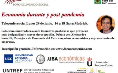 Economía durante y post pandemia