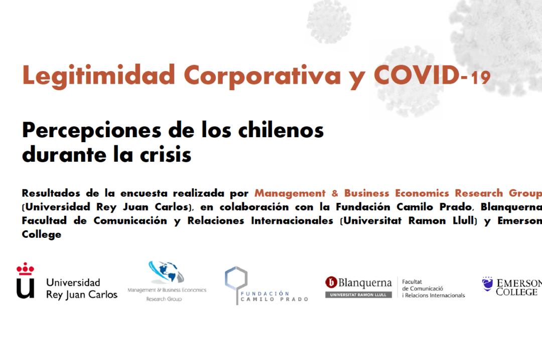 Legitimidad Corporativa y COVID-19: Percepción de los chilenos durante la crisis