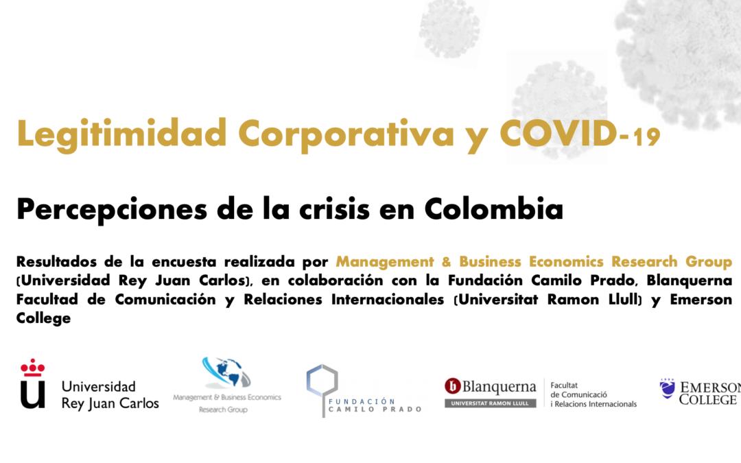 Informe de legitimidad Corporativa y COVID-19: Percepciones de la crisis en Colombia