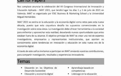 VII Congreso Internacional y Educación Aplicada – IMAT 2021
